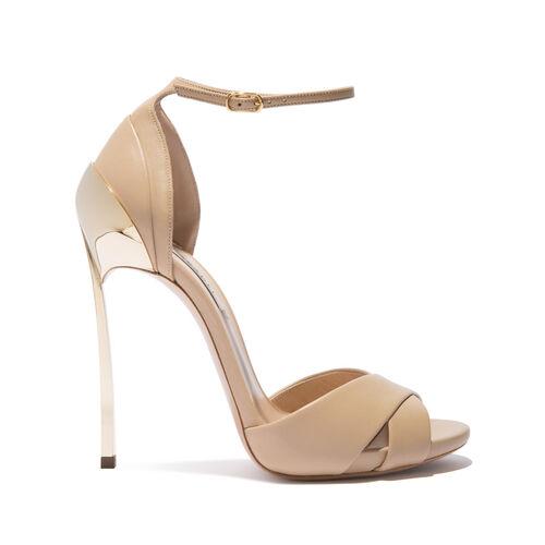 818fb12b8ba Sandals Techno Blade in Nappa Leather Skin | Casadei