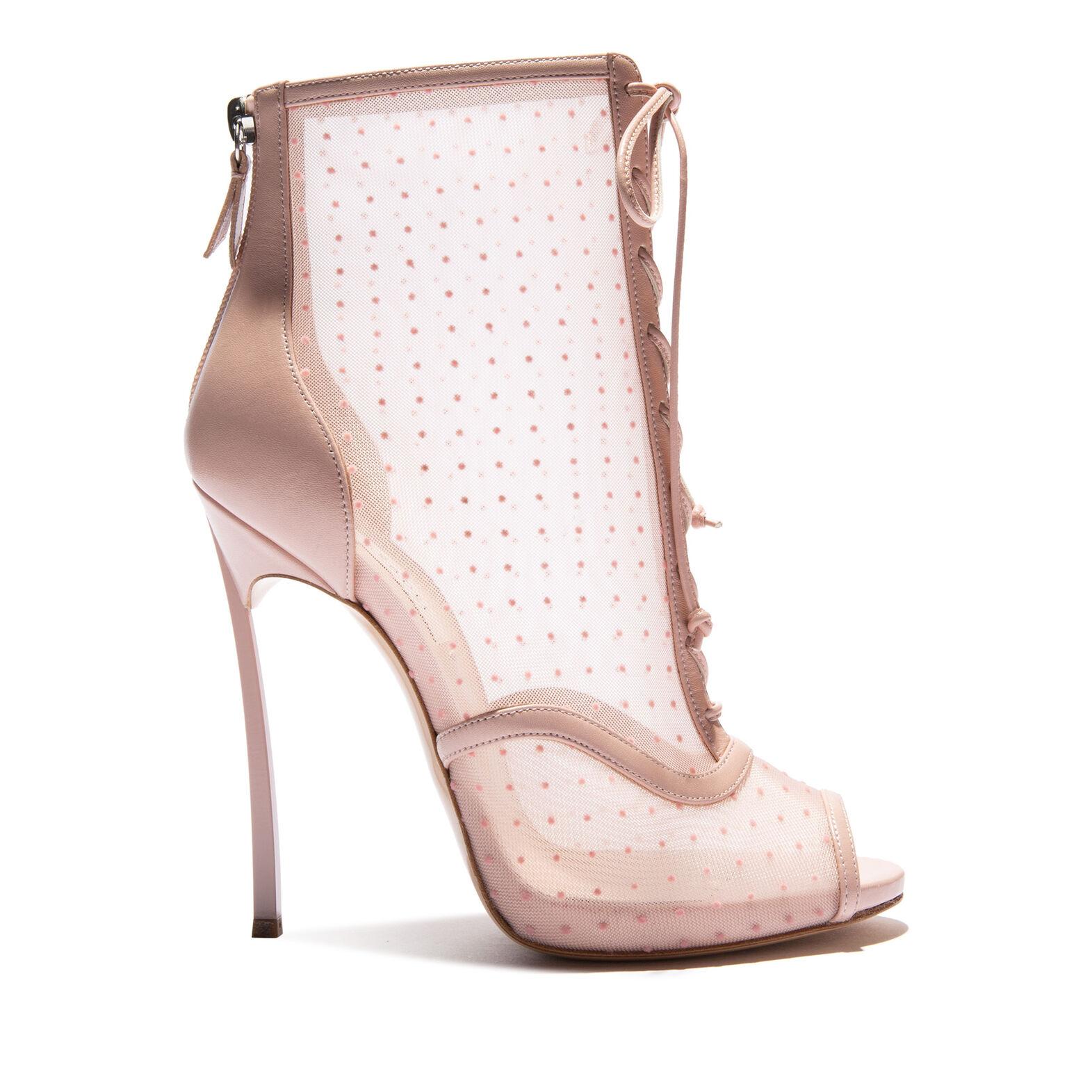Women S Farbpalette Hw20 In Plastic Pink Blade Folies Bergere Casadei