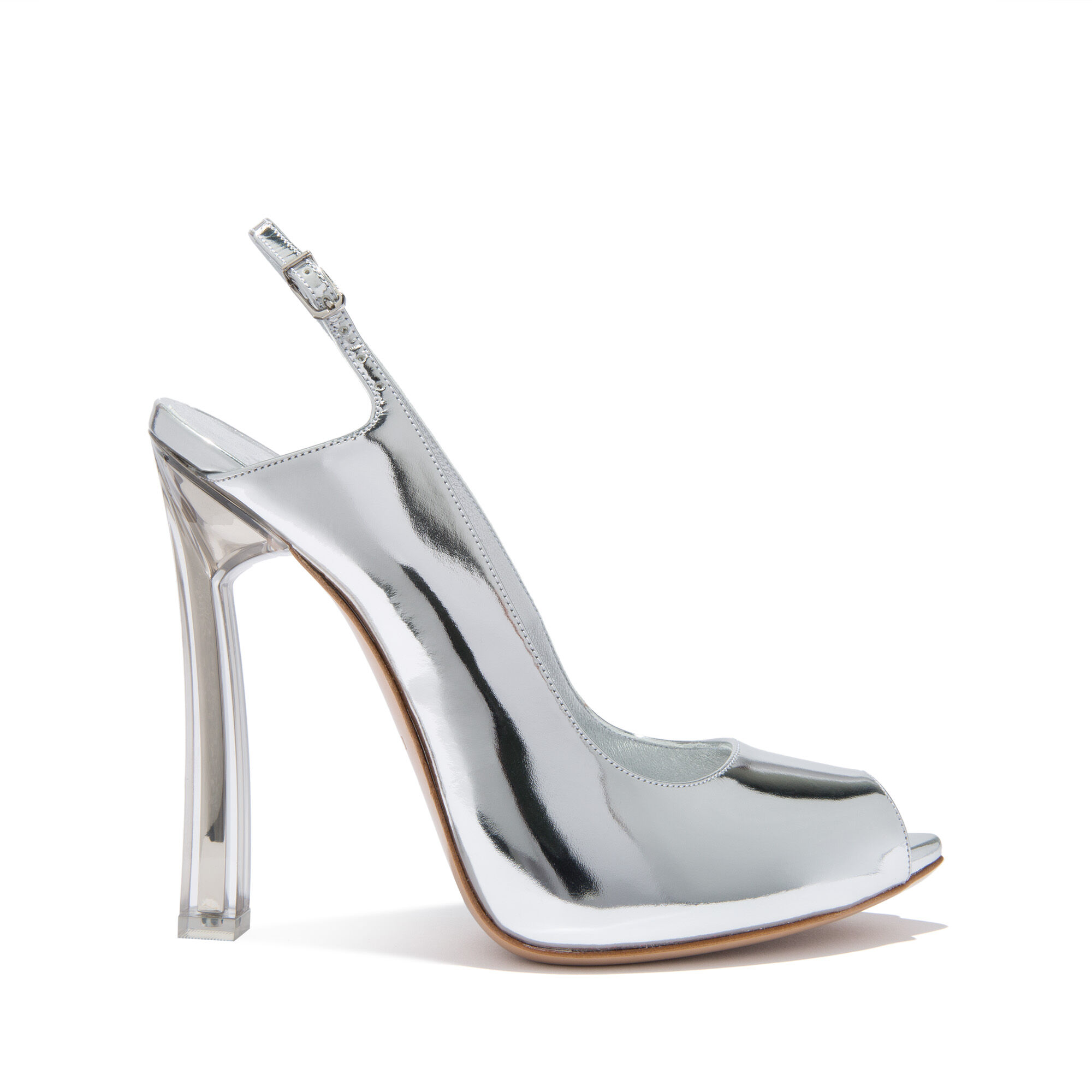 Chaussures Womens En Vente, Argent, Cuir, 2017, 36 37 38 39 38,5 Casadei