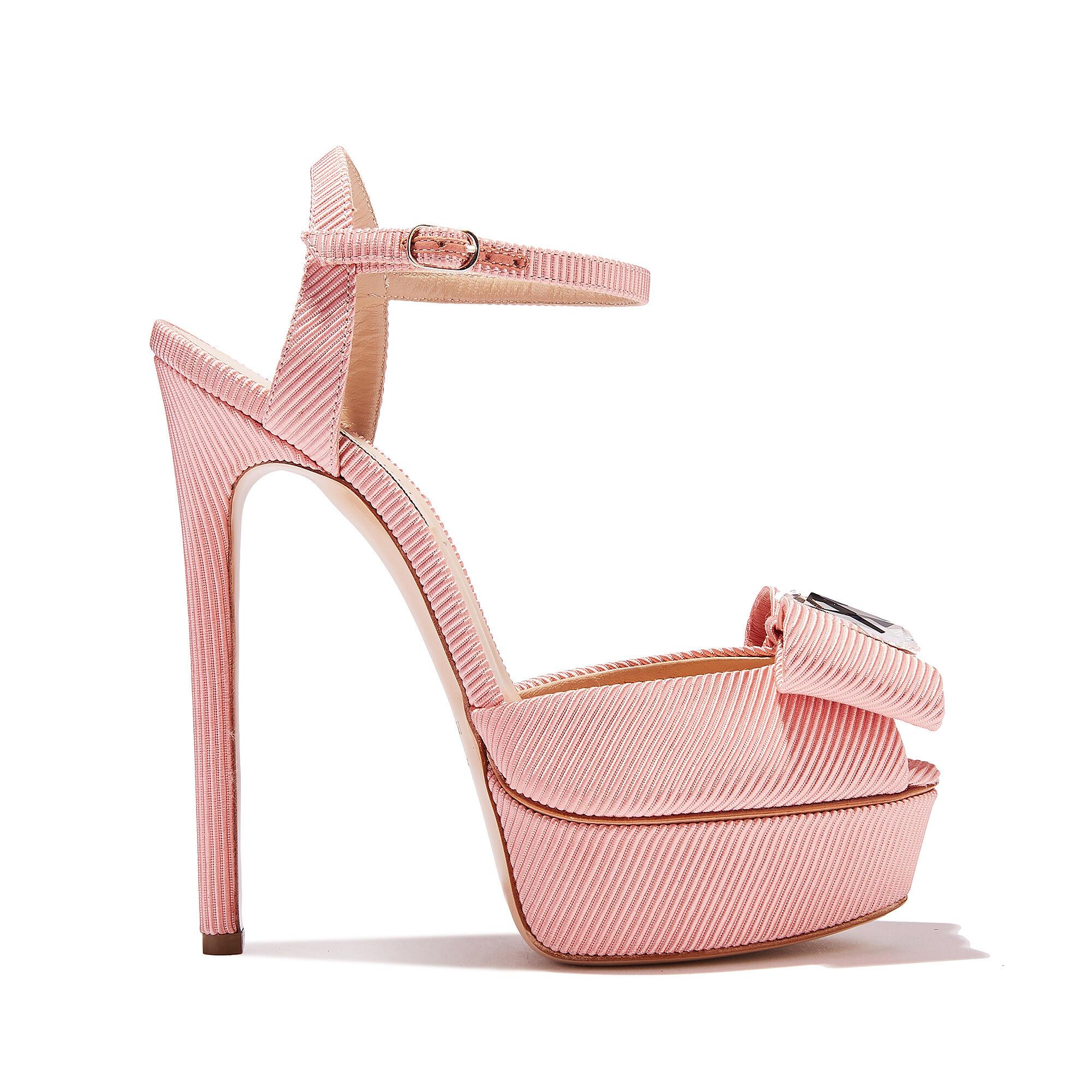 Ladies Spot On Diamante Platform /'Sandals/'